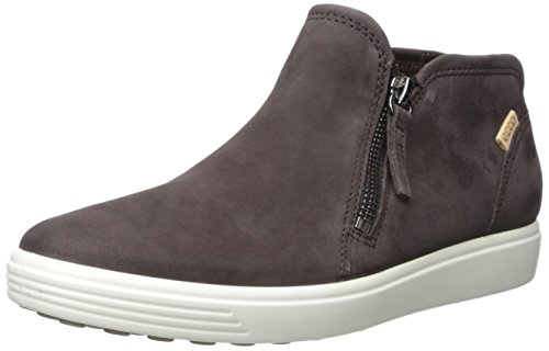 Ecco Soft 7 Ladies, Sneakers Hautes Femme Marron (Shale/powder)