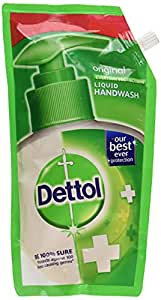 Dettol Liquid Handwash Refill - Original Germ Protection Hand Wash, (Pack of 3 - 750ml each)   Antibacterial Formula   10x Better Germ Protection