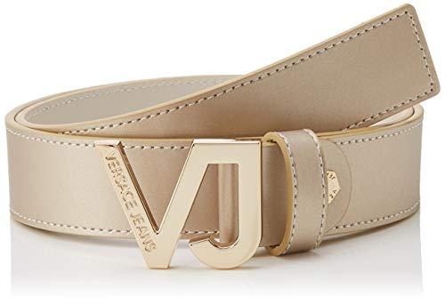Versace Jeans Couture Damen Belt Gürtel, Gold (Oro 901), 75 (Herstellergröße: 75.0)