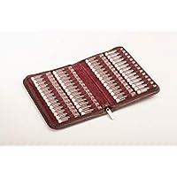 Homöopathie Taschenapotheke Klassik mit 56 Rollrandgläser 2ml/g für Globuli und Flüssigkeiten (bordeaux) preisvergleich bei billige-tabletten.eu
