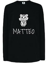 JOllipets MATTEO Kinder Junge Mädchen Langarm T-Shirt