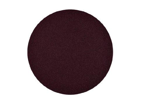 6 Stück – Filz Untersetzer Tischset Platzset Farbe aubergine 100% Merino Filz 3mm (Ø 10 cm)