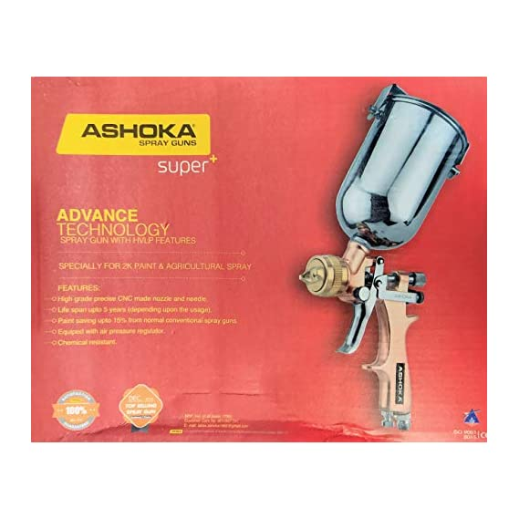 SST ashoka hvlp premium super plus spray gun kit