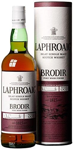 Laphroaig Brodir Port Wood Finish Batch No. 2 mit Geschenkverpackung Whisky (1 x 0.7 l)