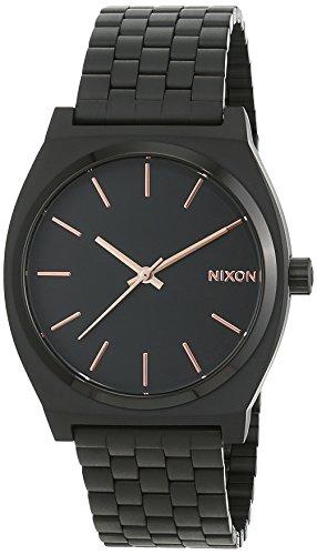 Orologio   Nixon display analogico cinturino Acciaio inossidabile  e quadrante   A045-957_Black