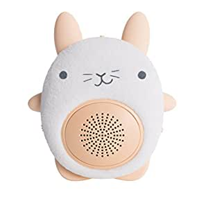 SoundBub, haut-parleur sonore apaisant avec Bluetooth | portable et rechargeable bébé sommeil aide par WavHello – Bella le lapin, blanc