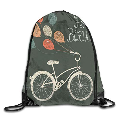 ZMYGH Bicycle Duvet Cover Set I Love My Bike Concept With Birds On The Seat Cruisers Basic Vehicle Simplistic Art,Green Blue_2Sport Yoga bag