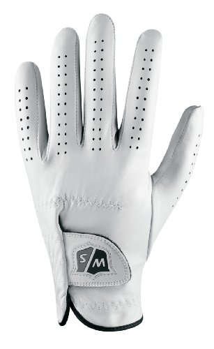 Wilson Golf Herren FG Tour links Hand Cadet Handschuh, Herren, weiß/schwarz