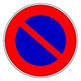 Novap - Panneau de signalisation - Designation.Defense de stationner -
