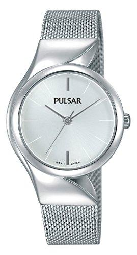 Pulsar Reloj Mujer de Analogico con Correa en Chapado en Acero Inoxidable PH8229X1