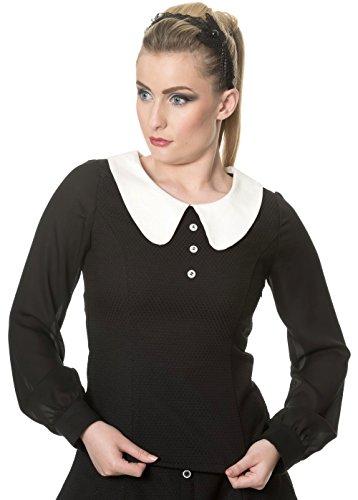 Banned - Camicia -  donna nero XL