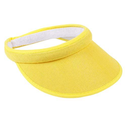 FRAUIT Damen/Herren Unisex Cap Sport Visor Outdoor Hollow Lady Sonnenhut Baseballmütze Leaf Verstellbarer Hut