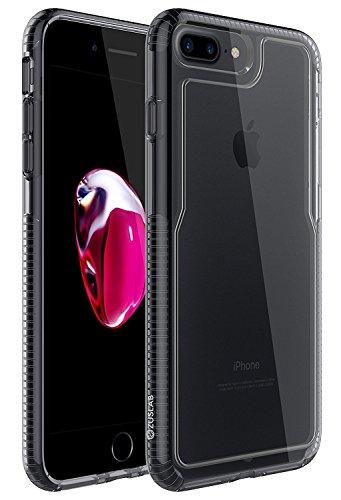 Custodia iPhone 7 Plus, ZUSLAB Grado Militare Pesanti Bumper Morbida TPU Silicone Gel Trasparente Crystal (Tactical Air Controllo)