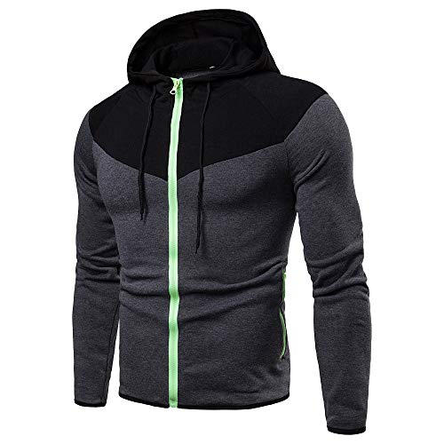 zarupeng jersey deportivo con capucha hombres de manga larga capucha Tops chaqueta abrigo ropa