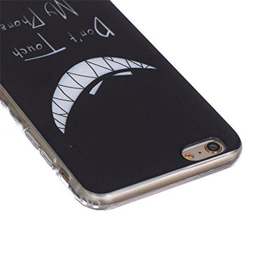 iphone 6 Plus Coque, MYTH Doux Flexible - Beau Papillon Slim Silicone Ultra Mince TPU Bumper Protection Housse Pour iphone 6 Plus / iphone 6s Plus Cool Personnalité