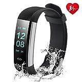 Husan pulsera deporte Fitness smartband reloj pulsómetro con,14 modos Monitor sueño podómetro contador pasos seguimiento de GPS Slim múltiples deportes seguimiento