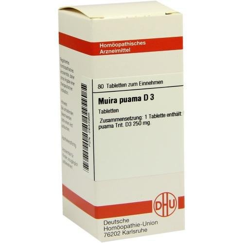 MUIRA PUAMA D 3 Tabletten 80 St Tabletten