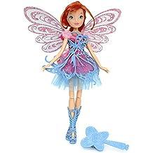 Giochi Preziosi - Winx Butterflix Fairy Bambola Bloom con Ali (Bloom Specchio)