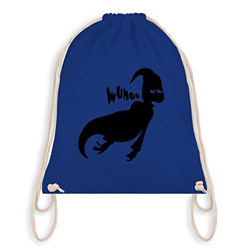 Halloween - Geist - Turnbeutel I Gym Bag Royalblau