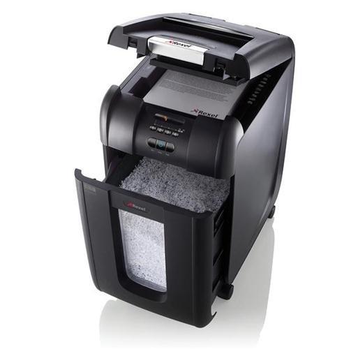 Deals For Rexel AutoPlus 300M Shredder Micro Cut P-5 Ref 2104300 105697 Online