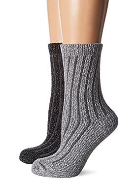 s.Oliver Socks Damen Socken, 2er Pack