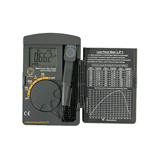 Digital-Multimeter LP1 Optischer Laser Leistungsmesser 40mW 400~1100nm Reichweite Optischer Sensor Japan Original