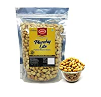 Roasted Peanuts(Unsalted), (Grade A Peanuts), Skin Removed, 400gm