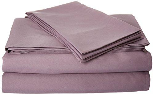 natürlichen Komfort Easy Care 4Stück Mikrofaser Spannbetttuch Set in Farbe, 10Farben
