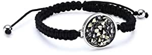 Dyrberg/Kern 333934  Swarovski Crystal  Brass Bracelet