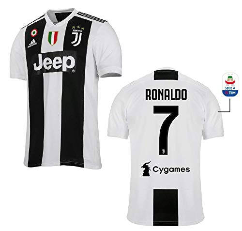 JUVE Maglia Gara Home RONALDO 7' F.C. Juventus 2018/2019 (M)