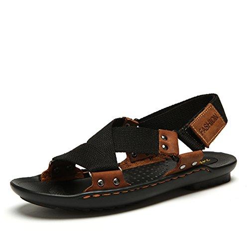été Sandales d'homme/Chaussures de loisirs Sports tissés/Sandales de plage B