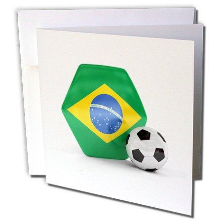 3D Rose Grußkarte mit Umschlag, Set 1 gc_181893_5 Individual Greeting Card
