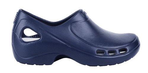 Everlite - Calzatura professionale WOCK - Tacco chiuso; Leggerissima; Antiscivolo; Antiurto - Azzurro scuro - UK : 9.5 ; EUR : 43