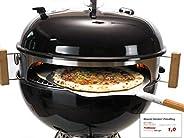 Moesta BBQ - Smokin 'Pizza Ring – Pacchetto Completo per P