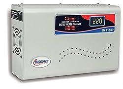 Microtek EM4150+ 150-280V Digital Voltage Stabilizer (Metallic Grey)