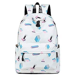 XHHWZB SellerFun Girl Flower Printed Primary Junior High University School Bag Bookbag Backpack (color : B)
