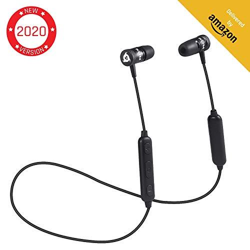 KLIMTM Fusion Bluetooth Ecouteurs sans-Fil + Haute Qualité Audio avec Microphone + Durables + Garantie 5 Ans - Innovant Casque Bluetooth Faible Latence + Couplage Rapide et Simple + NOUVEAUTÉ 2020
