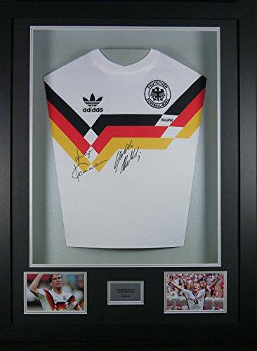 Jurgen-Klinsmann-Lothar-Matthaus-Germany-Signed-Shirt-3D-Framed-Display-with-COA