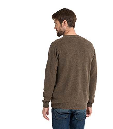 WoolOvers Cardigan à col V - Homme - Laine dagneau Wooded