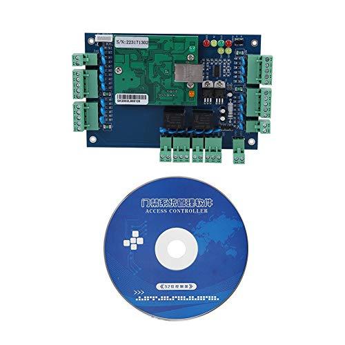 Tablero de Controlador de Panel, Sistema de Control de Puerta de Tablero de  Control de Acceso de Red TCP/IP para Uso de Puerta Wiegand 2