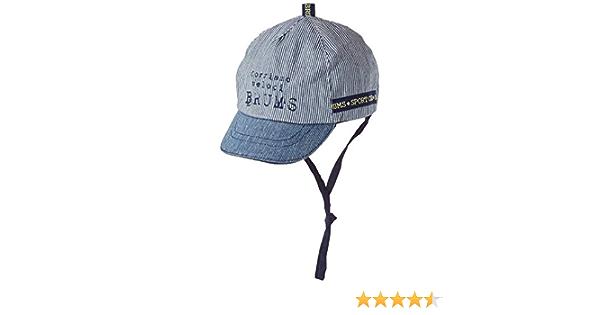 Brums Cappellino Jersey Mel.c//Visiera Cappello da Sole Unisex-Bimbi