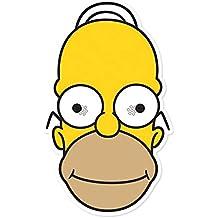 The Simpsons Homer–maschera, maschera di cartone, in cartone con fori fulgore per occhi, Elastico–dimensioni circa 30x 20cm
