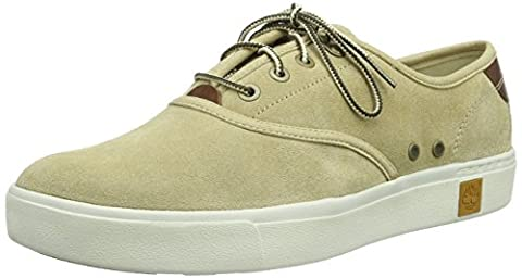 Timberland Men's Amherst Suede Ox Low-Top Sneakers Beige Size: 9
