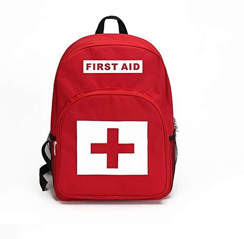Aranticy Erste Hilfe Set Rucksack Tasche, Leer Notfallrucksack Erste-Hilfe-Koffer Notfalltasche Medizinisch Tasche Wasserdicht Groß Rettungsrucksack First Aid Medical Bag für Home Auto Outdoor Reisen