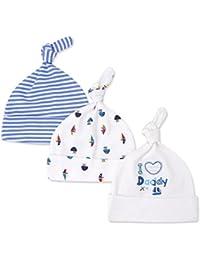 Amazon.it  cappellini per neonati - Bianco   Prima infanzia ... 26c8d8d76a1b