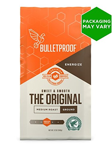 Bulletproof – Upgraded Coffee (Ground) – 340g/12oz (Single) 41hp1PT7qXL