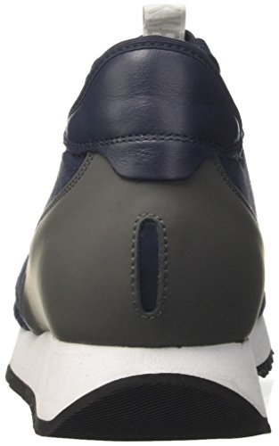 Bikkembergs Runn-er 802, Sneakers basses homme Blu (Blue/grey)