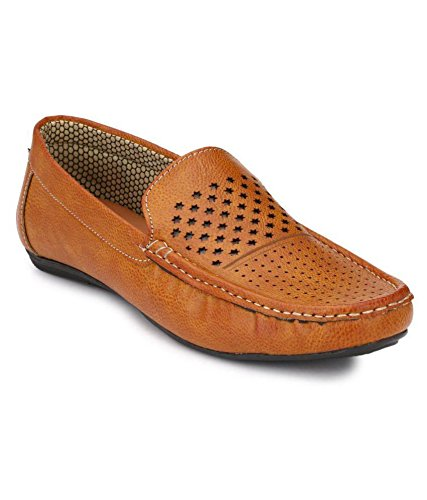 Boggy Confort Tan Loafer Shoes (10)