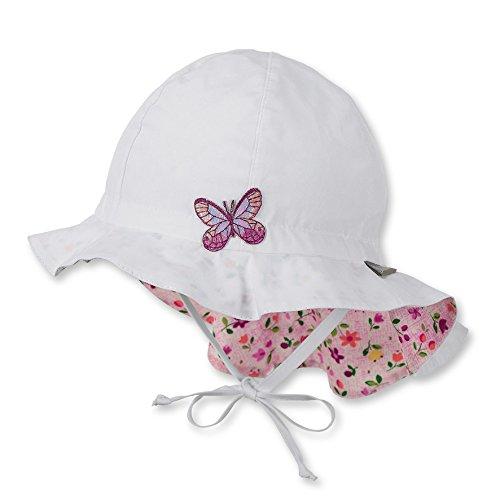 Sterntaler Baby-Mädchen Mütze Flapper, Weiß (Weiss 500), 51 (Kinder Hüte Für Den Sommer)