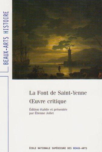 La font de Saint-Yenne